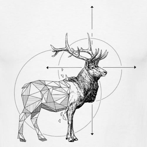 Hirsch geometrisch Geometrische Tiere