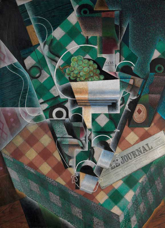 Juan-Gris-1915-Nature-morte-à-la-nappe-à-carreaux