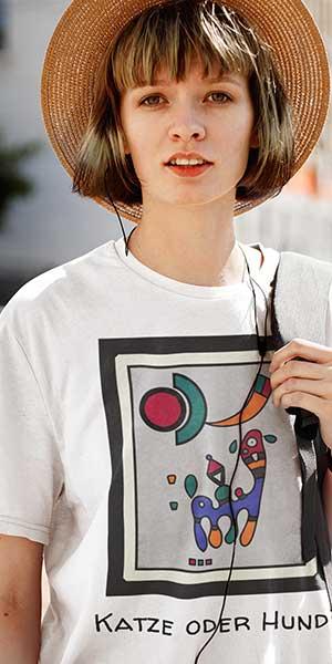 Kubismus T-Shirt
